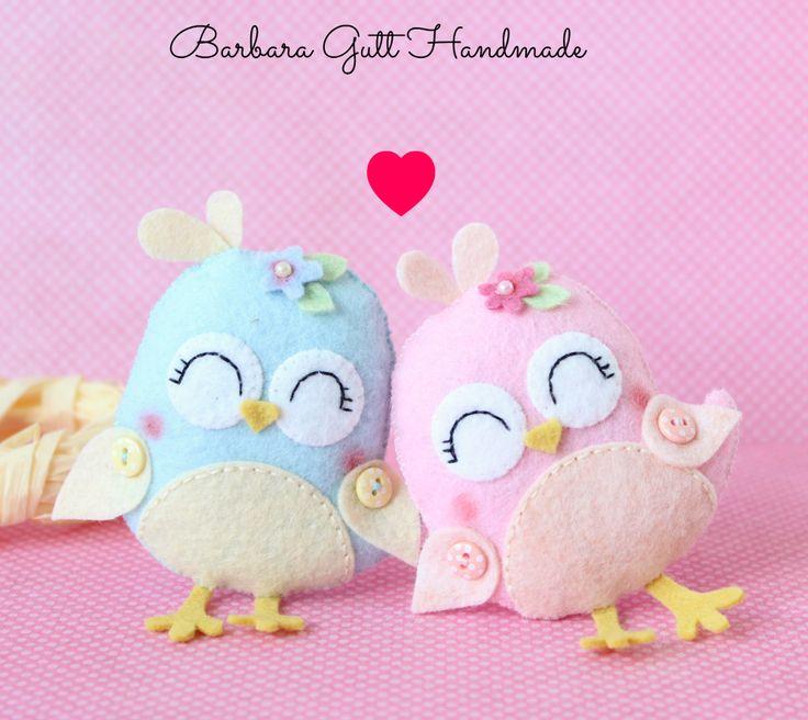 Barbara Handmade...: Ptaszki wiosenne /Spirng birds