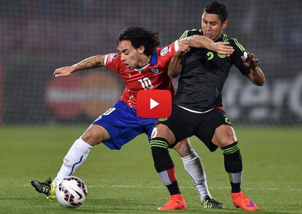Todos los goles del empate de Chile 3-3 México (Copa América 2015) - Oye Juanjo!