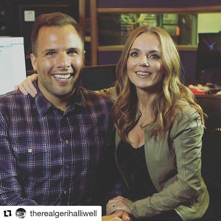 """Don't miss @danwootton's exclusive chat with @therealgerihalliwell today from 8.30am   #Repost @therealgerihalliwell (@get_repost)  ・・・  """"I have some very special news to share with you all tomorrow morning. Tune in to @itvlorraine from 9am BST to catch me in the studio with @danwootton"""""""