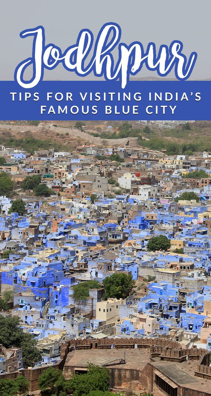 Jodhpur, the famous blue city in India, is a must see for any traveler. With stunning Indian architecture, history, palaces, and forts, it's full of beautiful photography opps.