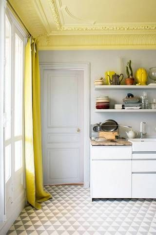 See 40 of the best painted ceilings from around the web. Browse bold and bright colored ceilings to inspire a painting project of your own.