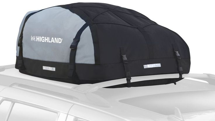 Highland Expandable Car Top Roof Bag Luggage Cargo Carrier Weather Resistant Box #Highland