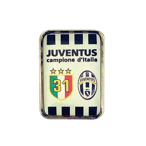 JUVENTUS DISTINTIVO PINS CAMPIONE D'ITALIA 31° SCUDETTO