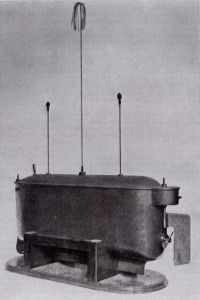 "1898 Nikola Tesla demonstrates a new invention he calls ""teleautomaton"" to spectators at Madison Square Garden in New York –a radio-controlled boat. The audience believes it's a trick, and remote control technology does not become commonplace until decades later.   30 Great Moments In The History Of Robots - Forbes"