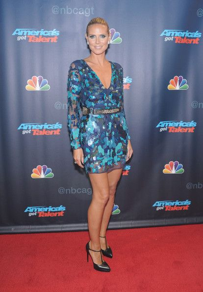 Heidi Klum - 'America's Got Talent' Season 8 Pre-Show