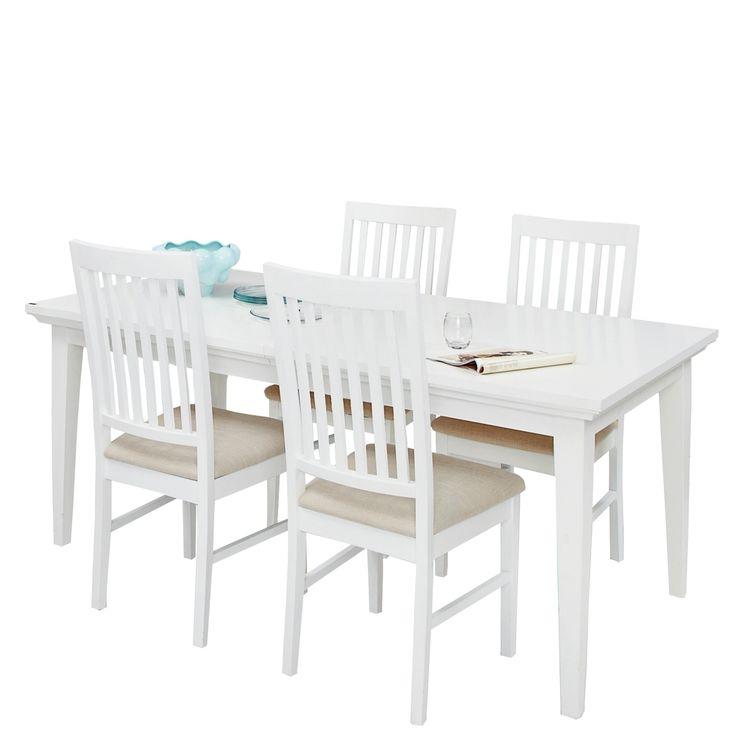 Paris Landhaus Tischgruppe Esstisch 4 Stühle Weiß Jetzt Bestellen Unter:  Https://moebel