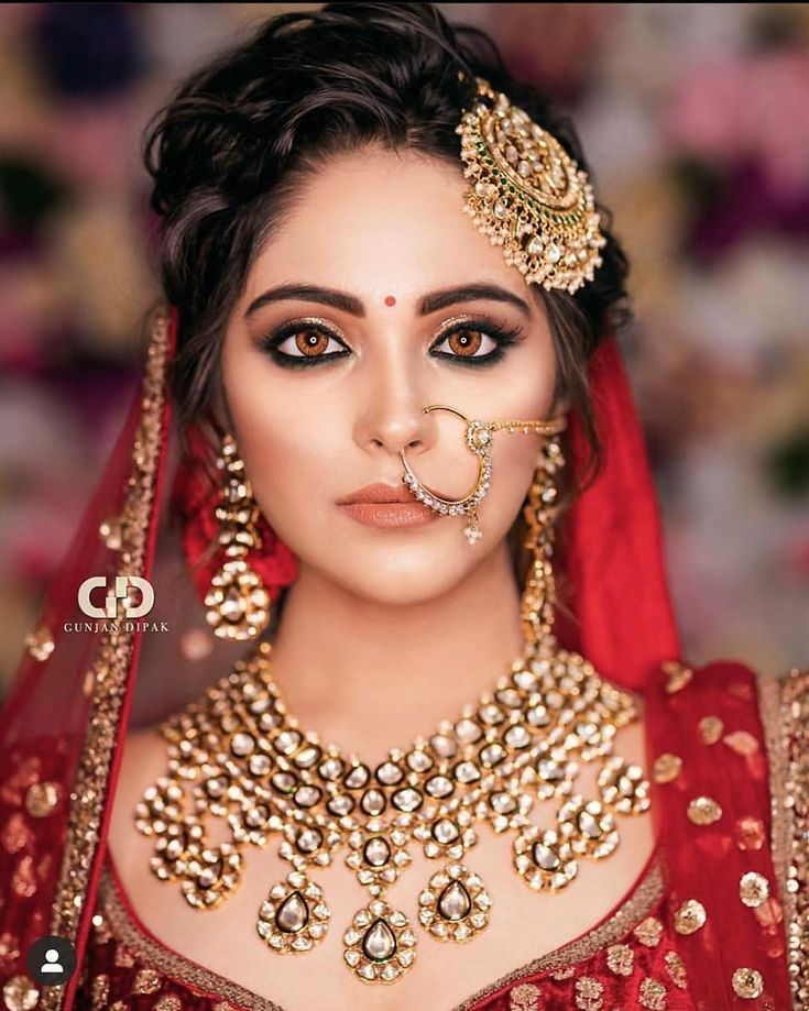 Simple and subtle bridal look in 2020 Best bridal makeup