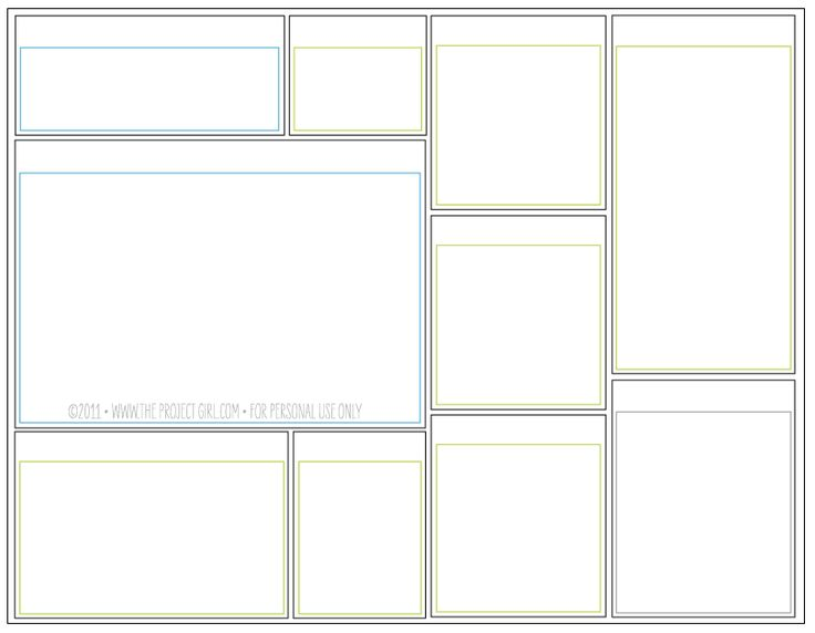 Free printable blank weekly or daily planner to do for Home project planner