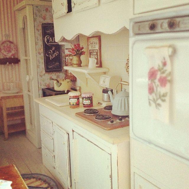 225 Best The Miniature Kitchen Images On Pinterest: 17 Best Images About Miniatures ♥ Doll Houses On Pinterest