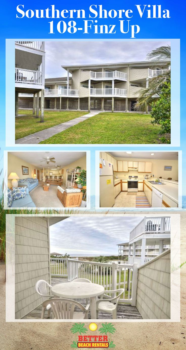 Sit on your private balcony, sip your beverage and watch the sun rise & set. This oceanfront condo with 2 bedrooms is a wonderful location for your next beach vacation.