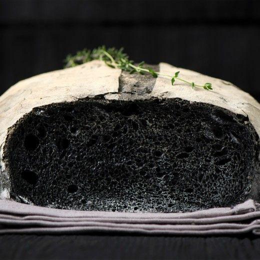 Рецепт - Угольный хлеб