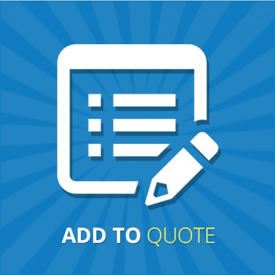 This Extension has multi functionality Add to Quote form to your products.