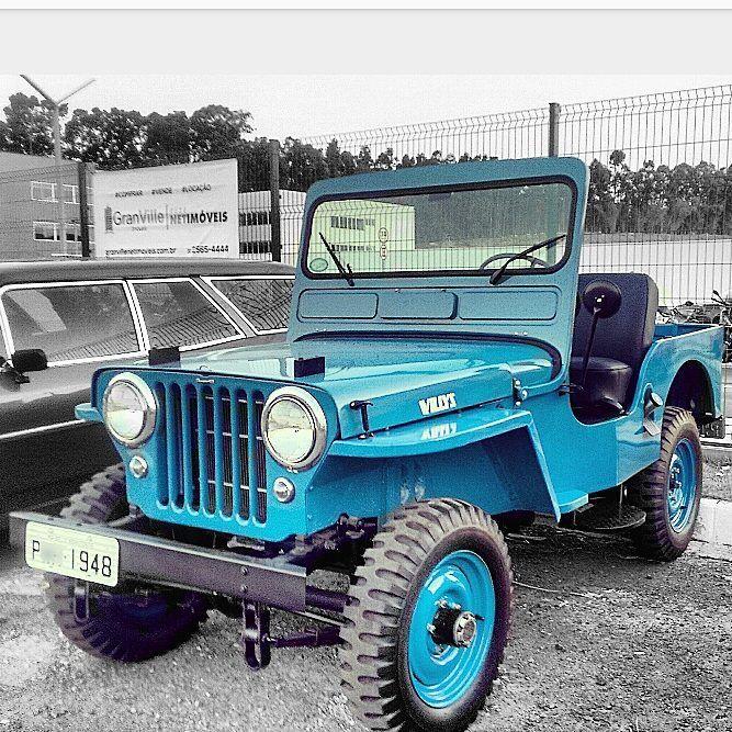 Jeep Willys Overland 1948 Carrosantigosbh Carrosantigosbr