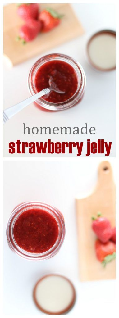 Homemade Strawberry Jelly Recipe - The Taylor House