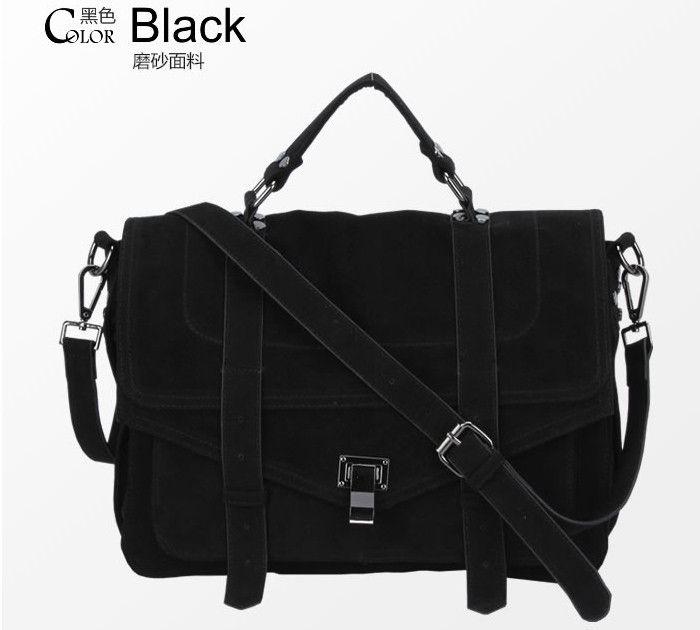 Fashion Star Women's Handbag Jessica Skin Scrub Briefcase Messenger Bag PU Suede Leather Emma Roberts Satchel woman shoulder bag