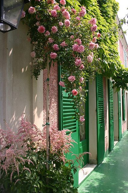 #Monet's Home, Giverny, France. MONET: One of my all time favourite French Impressionists.