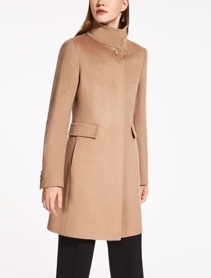 Max Mara AGNESE camel: Pure wool coat.