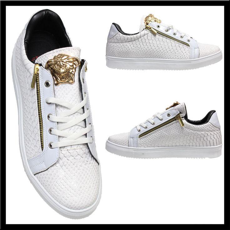 Heren Python Sneakers Wit HCS142 | Modedam.nlDe mooiste heren schoenen bestelt u in onze winkel. Bij ons vindt u verschillende betaalbare sneakers, nette schoenen en sport schoenen. U vindt gegarendeerd de exclusieve schoenen die u outfit compleet maakt. Bekijk ons collectie!!! Er is vast wel een sc