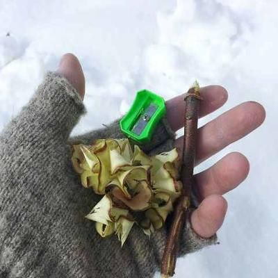 Pencil Sharpener - Simple, cheap tool for making tinder & getting your fire started.