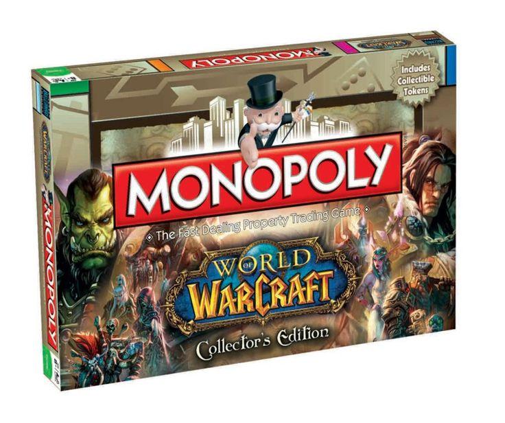 Boite de Jeux Monopoly World of Warcraft Collector