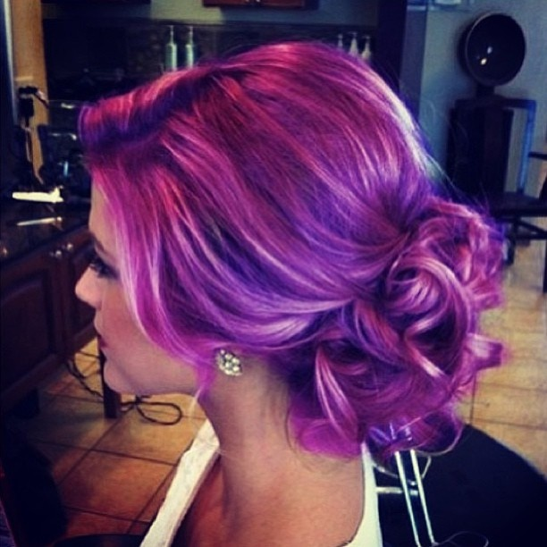 Lavender Highlights If This Was Business Appropriate I Would Do It WeddingideasHaircolorMy