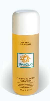 SpaGlo® Purifying Body Cleanser is a gentle and detoxifying body wash, cleanser that prepares the body to receive exfoliating, nourishing, and moisturizing treatments. Is perfect for oily and blemished prone skin on shoulders, chest and other body areas. Its light fruity fragrance is refreshing and helps make bath time a restorative experience.