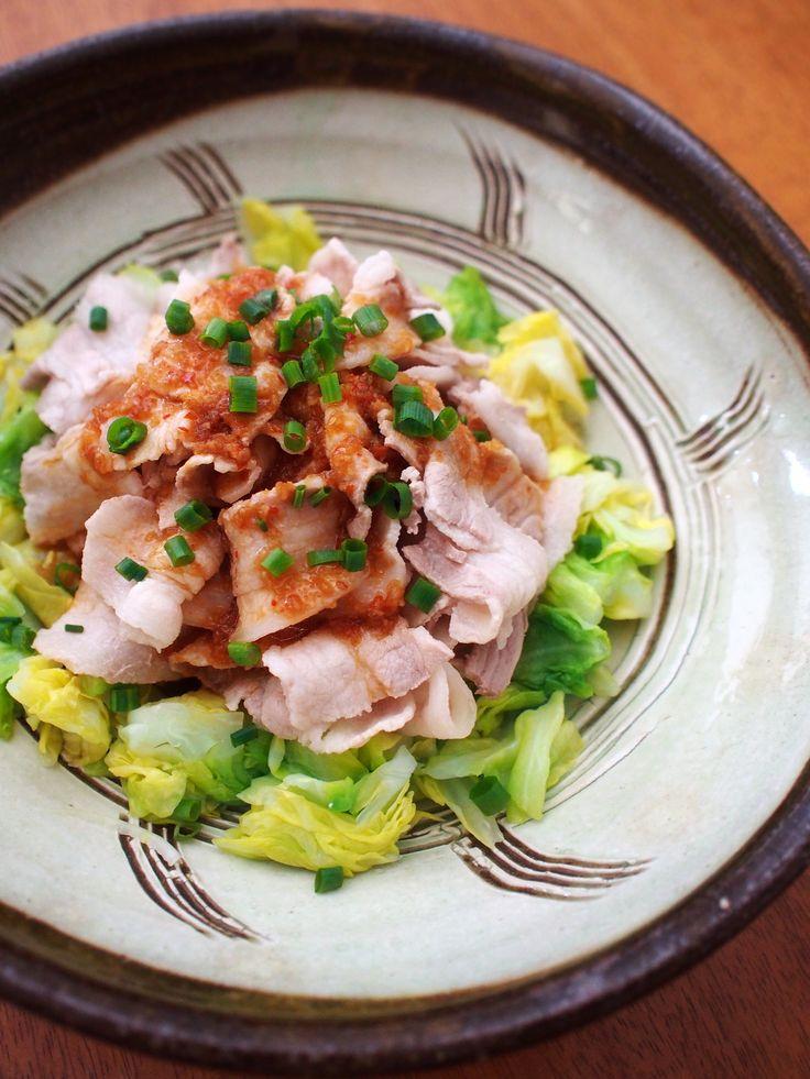 春キャベツと豚しゃぶ☆香味だれ by 加瀬 まなみ | レシピサイト「Nadia | ナディア」プロの料理を無料で検索