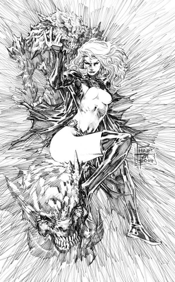 Goblin Queen by Philip Tan * - best thing to ever happen to Madeline IMO ;)