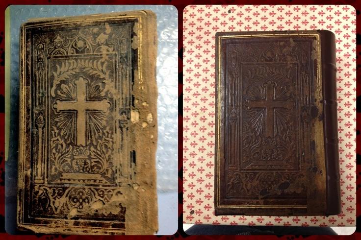 Prima e dopo il restauro---> VelArt- creazioni e restauro (FB)