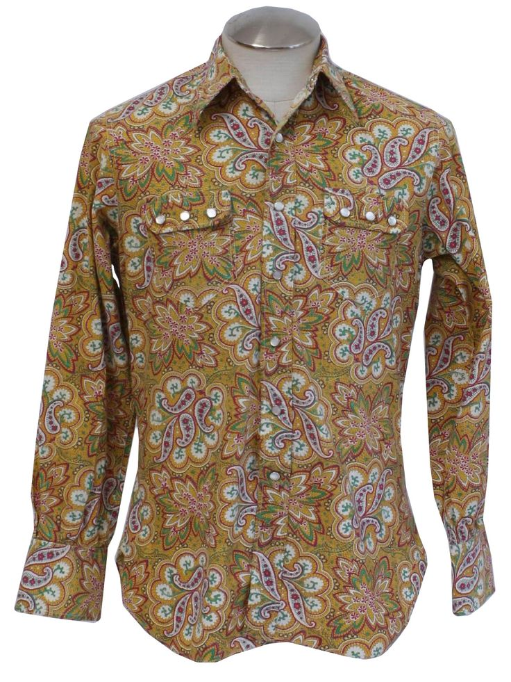 17 best ideas about mens paisley shirts on