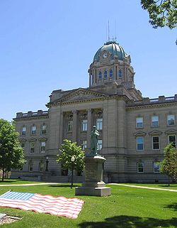 Kankakee County Courthouse, in Kankakee, Illinois