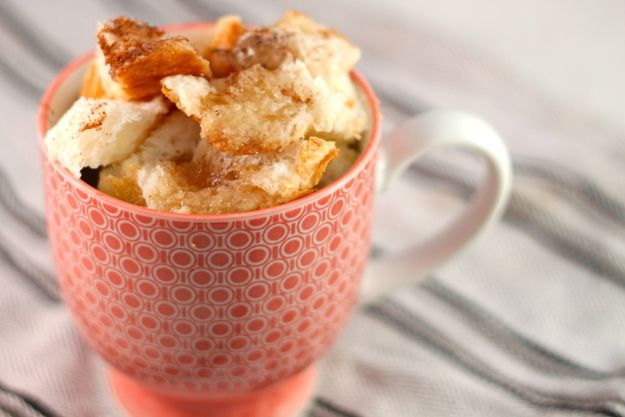 French Toast In A Cup   18 Microwave Snacks You Can Cook In A Mug