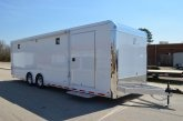 28' Aluminum Race Car Trailer - wow