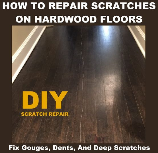how to get scratches out of wood floor