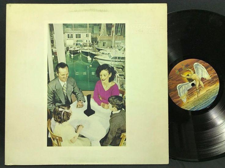 Led Zeppelin Presence 1976 Swan Song Records SS 8416 LP #VinylRecords