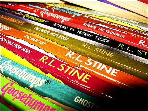 Assorted Goosebumps, by R.L. Stine