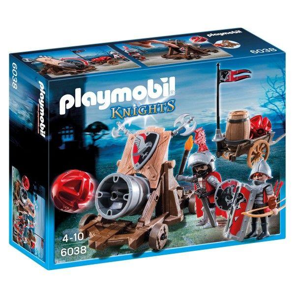 Chevaliers de l'aigle avec canon géant PLAYMOBIL KNIGHTS - 6038 – La Grande Récré : vente de jouets et jeux Playmobil Knights