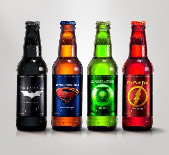 Bem Legaus!: Cerveja de Super-herói