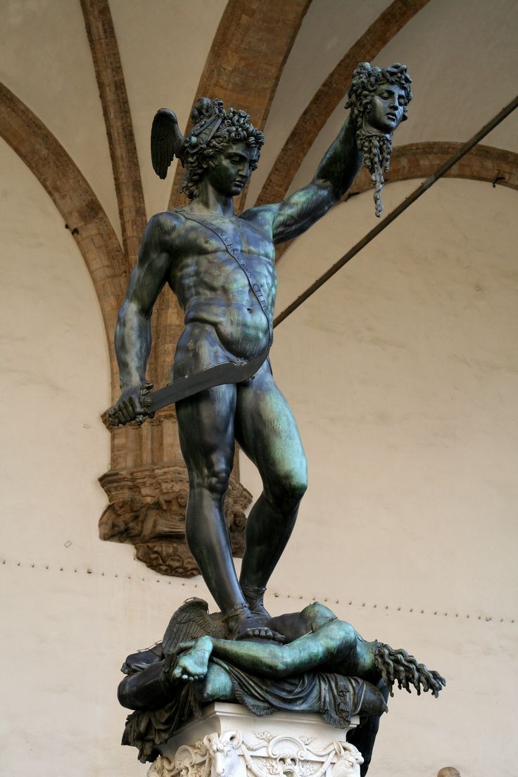 Perseus & Medusa by Canova (Illustration) - Ancient ...  |Perseus With The Head Of Medusa Painting