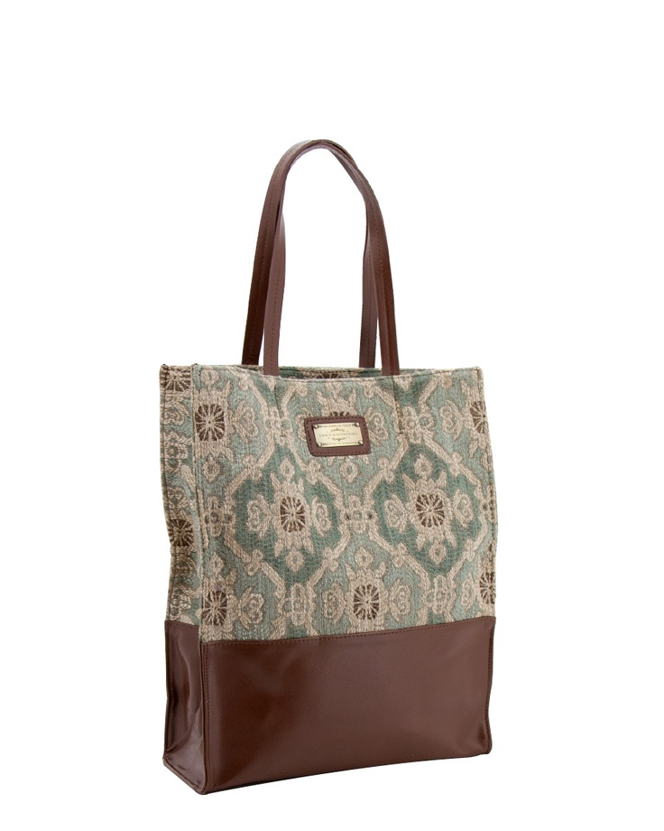 Spencer and Rutherford - CATEGORY :: Large Shoulder Bags :: Glamour Tote - Moss