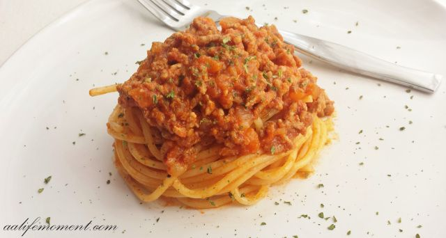 Traditional Spaghetti Bolognese Sauce