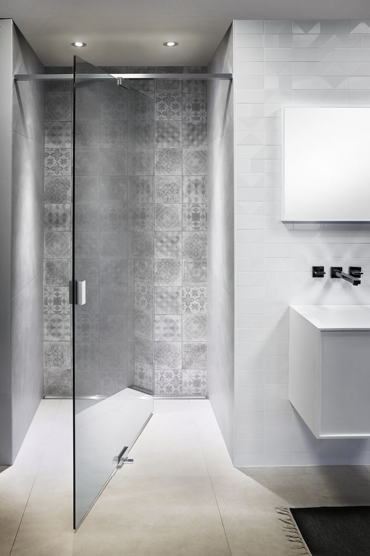 Different bathroom tiles - Beautiful Bathroom Done Nice Materials With Three Different Tiles