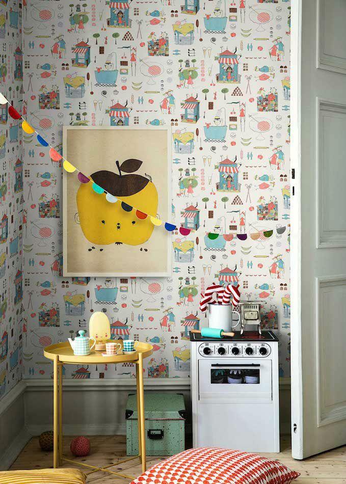 187 best papel pintado infantil children wallpaper for Papel pintado infantil