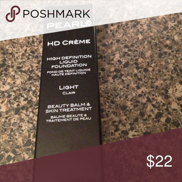 Eve Pearl HD crime. HD liquid foundation. Light. New Eve Pearl Makeup Foundation