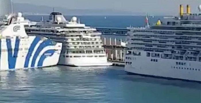 Τεράστιο φέρρυ πέφτει πάνω σε κρουαζιερόπλοιο στην Βαρκελώνη [video] Σας ενδιαφέρουν                          Xpiστivα 33 ετώv yuμvάστpiα-παvτpεμέvn!!.…-Εyώ στα...                                 ...