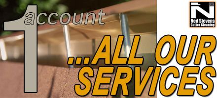All you need is a Ned Stevens account to have quick access to all of our Gutter Cleaning services! Create your #free one today >>> https://nedstevens.com/Content/support/myaccount.aspx