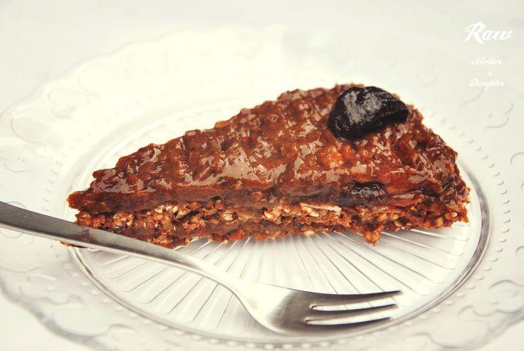 Raw Pohankovo-slivkový koláč | Raw Mother&Daughter