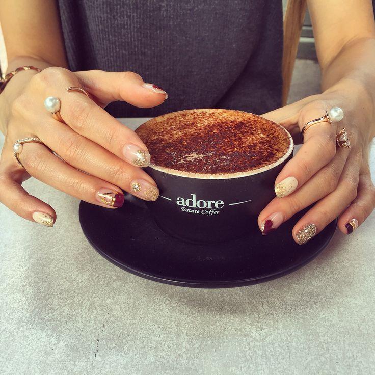 Coffee, Avecnewyork, Vitafede, Nailart.