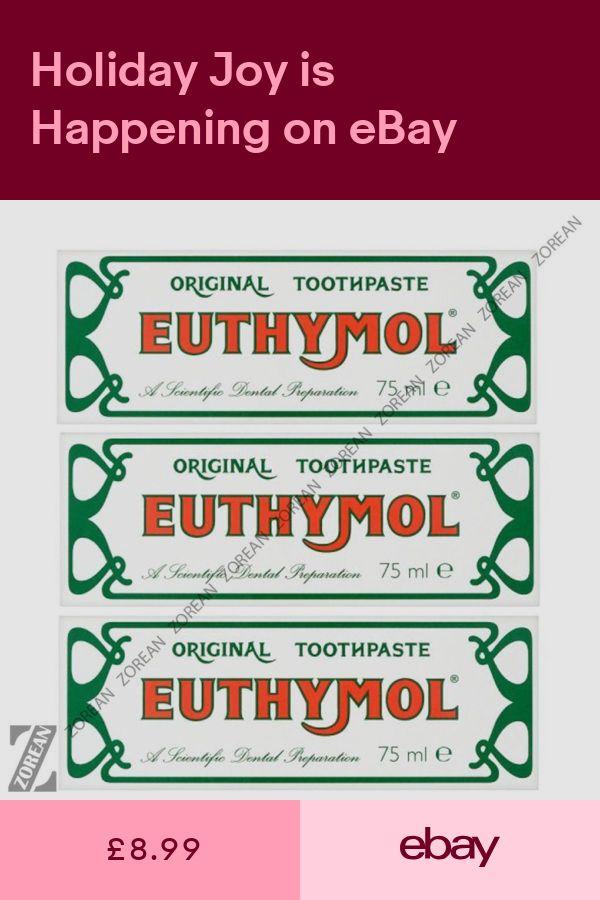 euthymol original toothpaste waitrose amp partners - 600×900