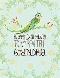 happy birthday grandma - Bing Images